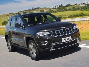 Jeep Grand Cherokee Limited (Foto: Divulgação)