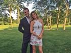 Gisele Bündchen posa com Tom Brady: 'Meu encontro da noite'