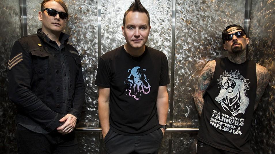 Blink 182 com a nova formao, com Matt Skiba no lugar de Tom DeLonge (Foto: Divulgao)