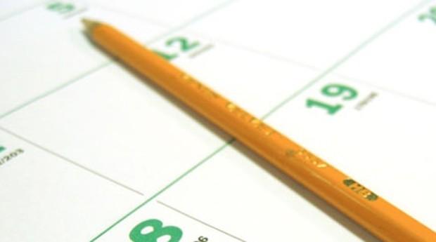 agenda calendario (Foto: Reprodução)