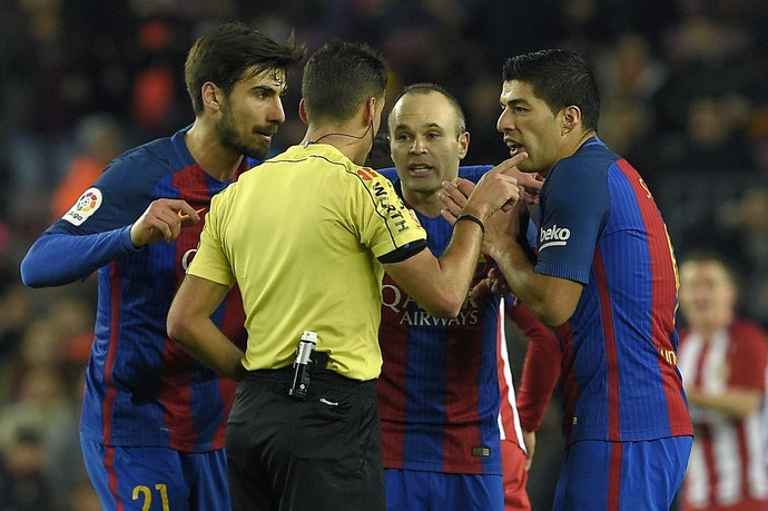 Luis Suarez Barcelona Atlético de Madrid (Foto: AFP)