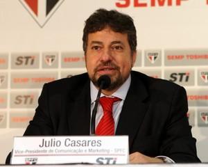 Julio Casares (Foto: Site Oficial / saopaulofc.net)