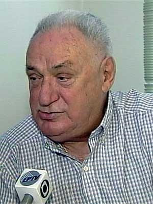 O ex-prefeito de Campinas Francisco Amaral durante entrevista para a EPTV (Foto: Reprodução EPTV)
