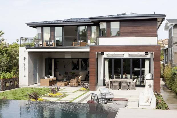 Fotos de fachadas de casas com texturas 54