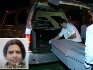 Mulher foi assassinada a tiros em bar de São Carlos (Foto: Paulo Chiari/ EPTV)