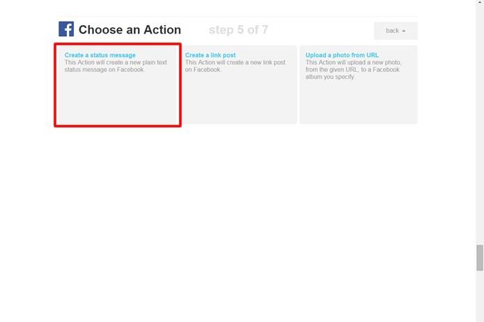 """Procure pelo serviço do """"Facebook"""" e ative-o. Em seguida, escolha o mecanismo em destaque para configurar sua resposta automática (Foto: Reprodução/Daniel Ribeiro)"""