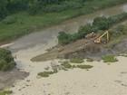 Resíduo de barragem rompida afeta abastecimento de água em Pinda, SP