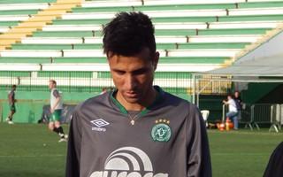 Rodrigo Biro Chapecoense (Foto: Laion Espíndula)