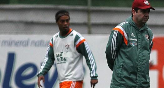 """""""não dá para cravar"""" (Nelson Perez/ Fluminense FC)"""
