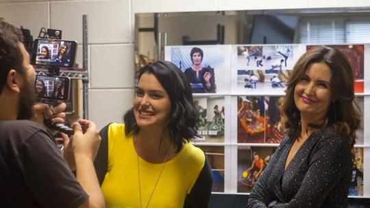 Fátima Bernardes recorda momentos de sucesso na internet e responde perguntas dos fãs