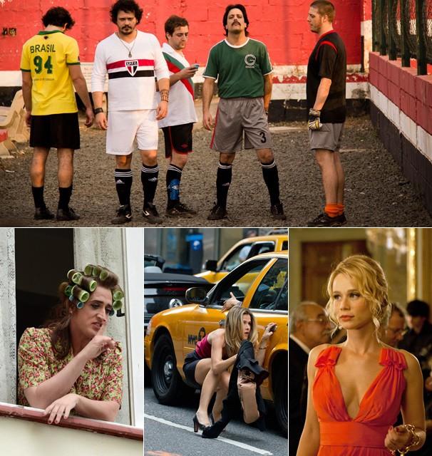 Você vai se divertir com estas quatro comédias nacionais que lotaram os cinemas do Brasil (Foto: Divulgação)