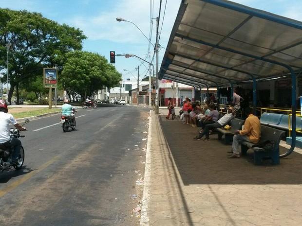 ônibus Araguari (Foto: Leonardo Hamawaki/G1)