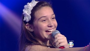 Perola Crepaldi The Voice Kids (Foto: Reprodução/ The Voice Kids)
