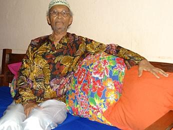 Ubiracy Ferreira, fundador do Bacnaré (Foto: Renan Holanda / G1)