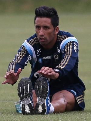 Lucas Barrios Palmeiras (Foto: César Greco / Ag. Palmeiras / Divulgação)