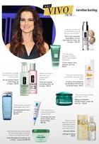 Com a pele perfeita, Carolina Kasting lista seus produtos de beleza favoritos