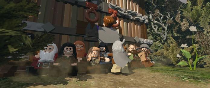 Com tantos protagonistas, o jogo acaba se tornando inapropriadamente exigente (Foto: Divulgação/Lego)