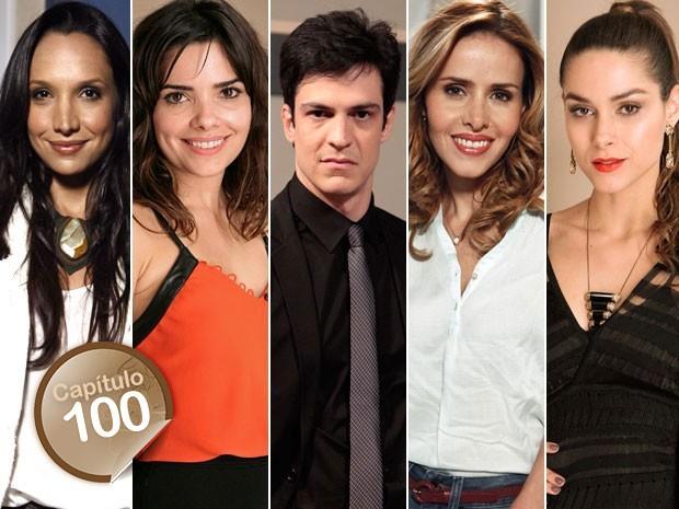 Alejandra, Aline, Félix, Glauce ou Leila? De qual vilão você tem um pedacinho? (Foto: Amor à Vida/TV Globo)