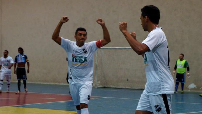 ABC x Macau futsal (Foto: Augusto Gomes/GloboEsporte.com)