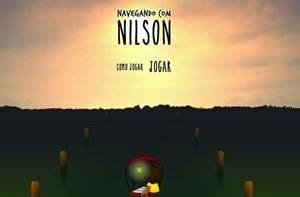 Ajude o Nilson a navegar pelo rio e divirta-se (Vídeo Show/TV Globo)
