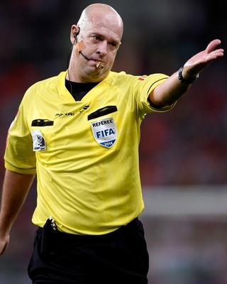 árbitro Heber Roberto Lopes  (Foto: Agência Getty Images)
