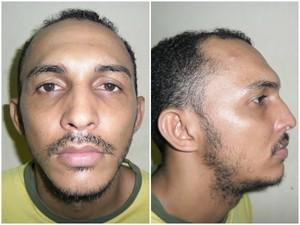 Herley Nascimento Santos, também suspeito de estupro, fugiu nesta terça (Foto: Divulgação/Sejus)