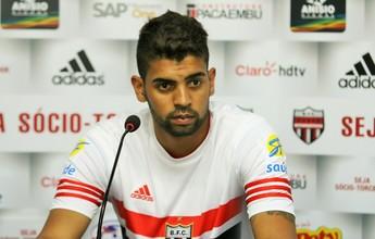 Botafogo-SP aguarda recuperação de Stéfano Yuri para devolvê-lo ao Santos