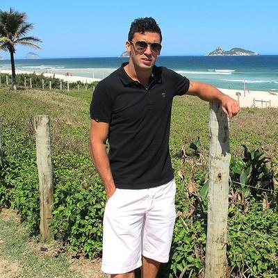 Edilson Botafogo entrevista (Foto: Thales Soares)