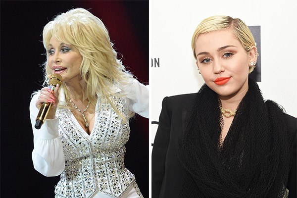 Dolly Parton e Miley Cyrus (Foto: Getty Images)