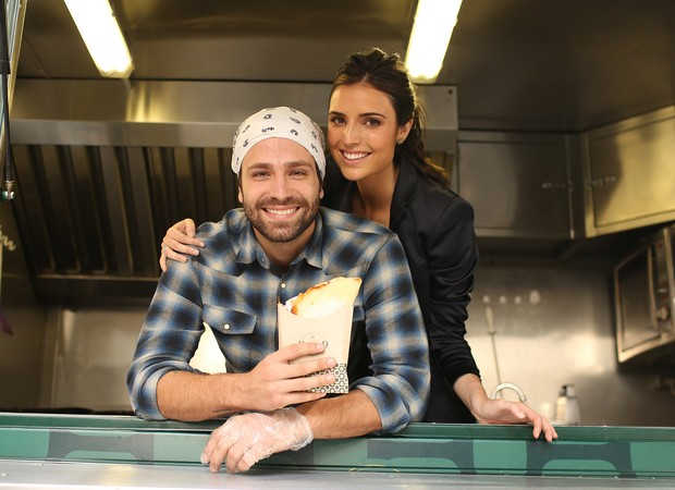 João Gabriel e Jessica Baroni (Foto: Iwi Onodera / EGO)