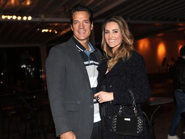 Carlos Machado e Ivy Rocha (Foto: Iwi Onodera / EGO)