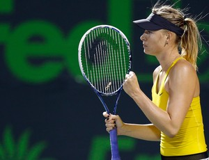 Sharapova tênis Miami (Foto: Reuters)
