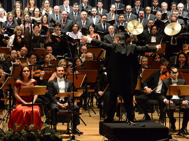 Orquestra SInfônica de Campinas (SP) (Foto: Toninho Oliveira)
