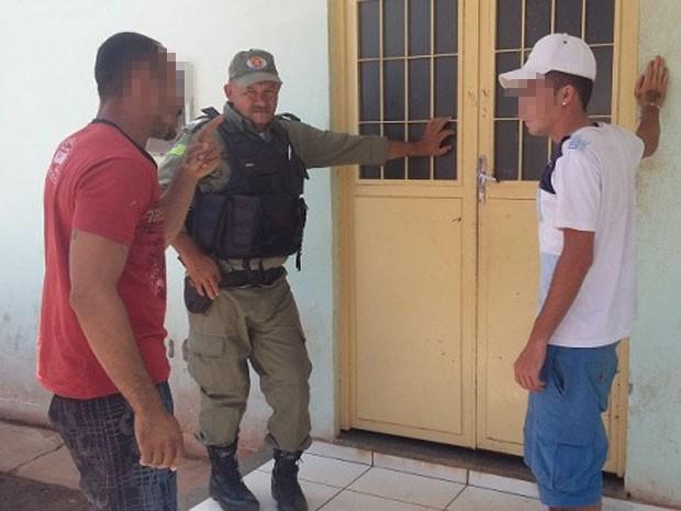 Suspeitos foram liberados  (Foto: Luis Carlos/RealidadeemFoco)
