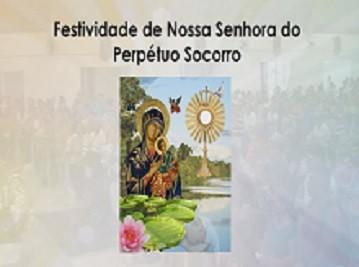 Festividade perpetuo socorro 359 (Foto: Reprodução/TV Liberal)