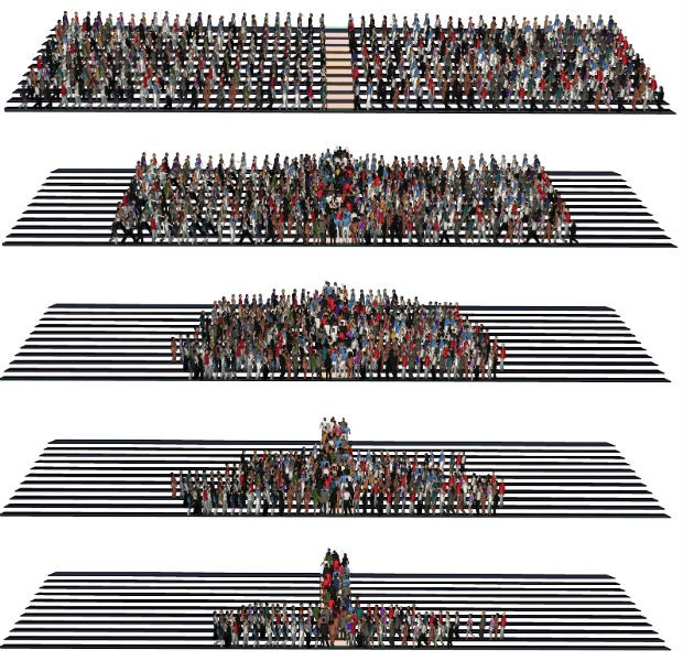 arena grêmio animação montagem geral (Foto: Reprodução)