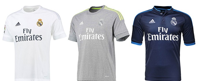Camisas Champions Real madrid