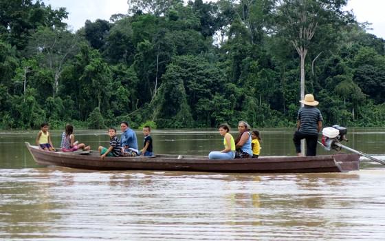 amazônia, reserva extrativista (Foto: Francivane Fernandes/IEB)