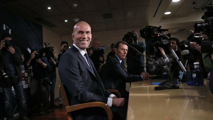 Zidane coletiva Real Madrid (Foto: Reuters)