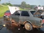 Carros batem de frente em rodovia de Tupã e três ficam feridos