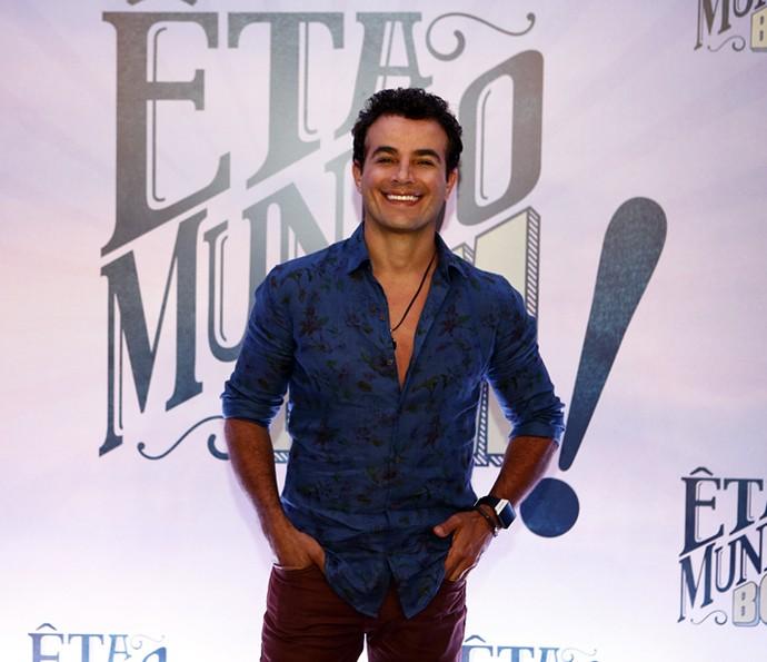 Anderson Di Rizzi no lançamento de 'Êta Mundo Bom!' (Foto: Inácio Moraes/Gshow)