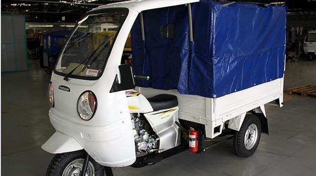 A responsável pela frota de triciclos motorizados é a Motocar (Foto: Divulgação)