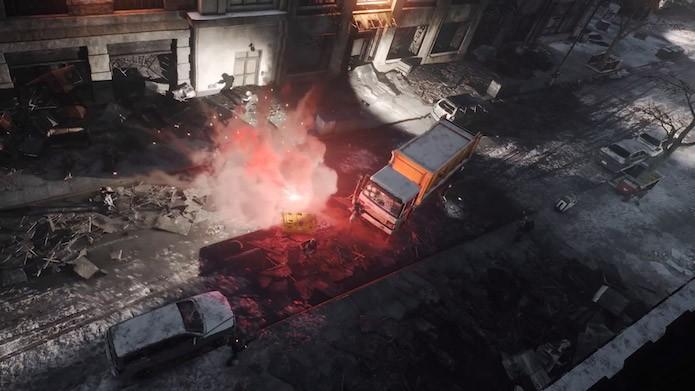 The Division: entregas de suprimentos são disputadas por jogadores (Foto: Divulgação/Ubisoft)
