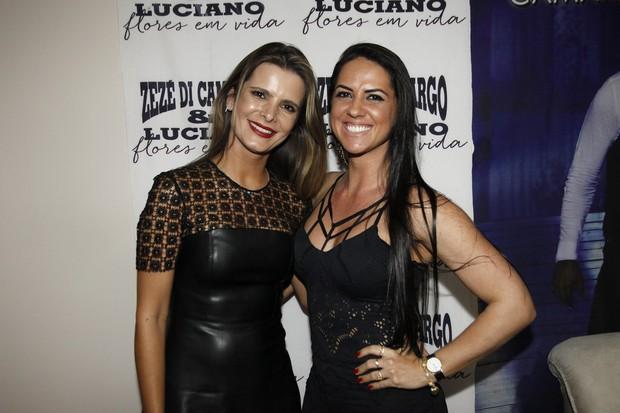 Flávia Fonseca Camargo e Graciele Lacerda (Foto: Celso Tavares/EGO)