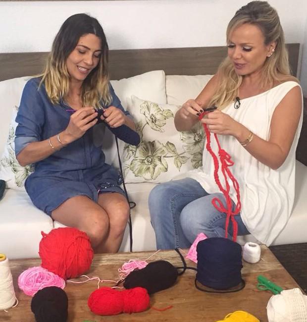 MArlei Cevada e Eliana (Foto: Reprodução/Instagram)