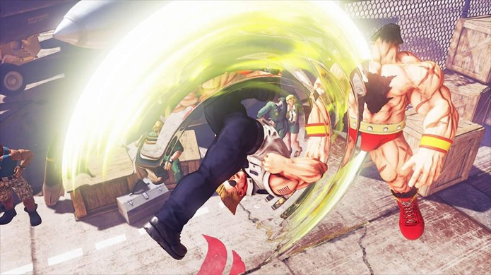 Guile trará de volta seu Flash Kick em Street Fighter 5 (Foto: Reprodução/Polygon)