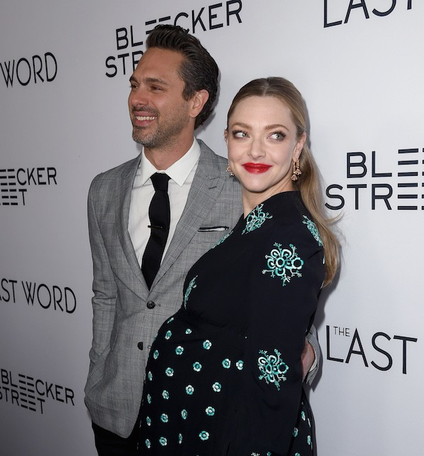 A atriz Amanda Seyfried e o marido, Thomas Sadoski (Foto: Getty Images)
