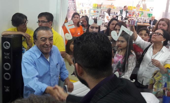 Mauricio de Sousa na Bienal Internacional do Livro de São Paulo