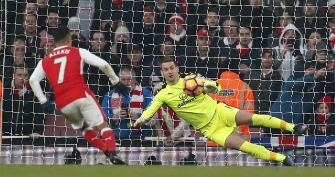 Alexis Sánchez Arsenal Burnley (Foto: Reuters)
