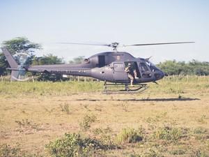 Operação contou com apoio de aeronaves (Foto: Divulgação / Polícia Federal)